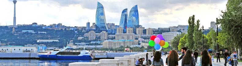 skrydziai i Baku