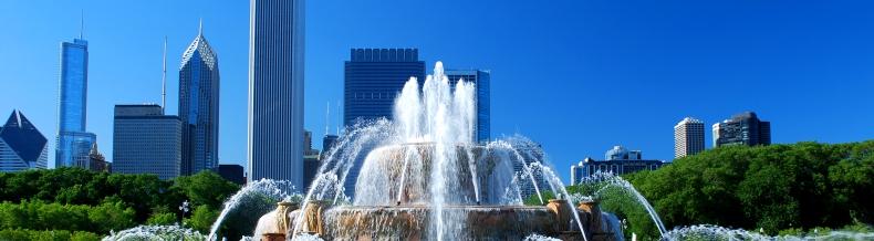 Cikagos fontanas