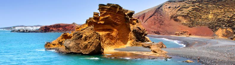Lanzarotės paplūdimys