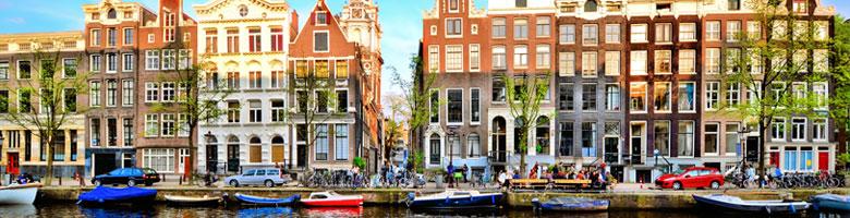 Lētas aviobiļetes uz Amsterdamu