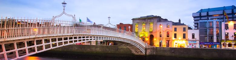 Lētas aviobiļetes uz Dublinu
