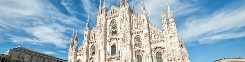 Lētas aviobiļetes uz Milānu