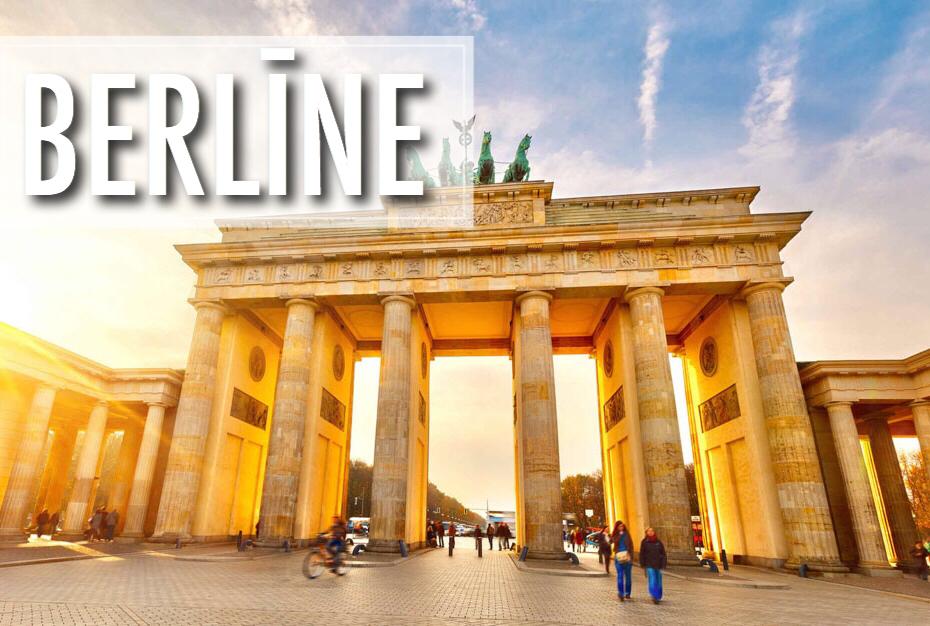 Aviobiļetes uz Berlīni sākot no €28! / Lētas biļetes Rīga - Berlīne