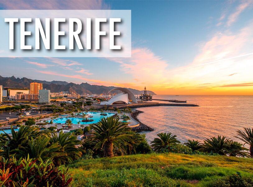 Tenerife, Spānija - lētas aviobiļetes uz Tenerifi (Kanāriju salas)