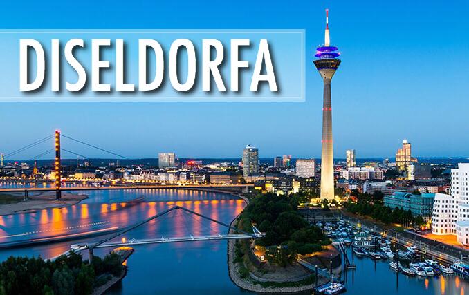 Lētas aviobiļetes uz Diseldorfu / lētas biļetes Rīga - Diseldorfa