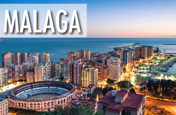 Lidojumi uz Malagu, Spāniju / lētas aviobiļetes Rīga - Malaga