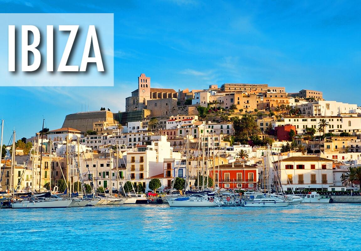 Ibiza, Spānija! Lētas aviobiļetes lidojumiem uz Ibizu (Eivisu) Spānijā