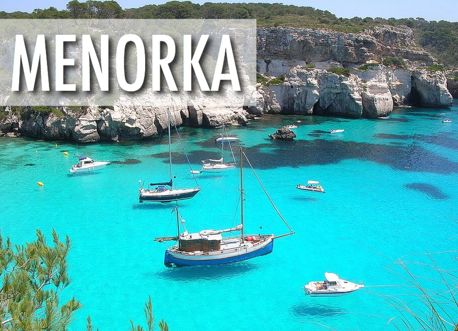 Menorka, Spānija - lētas aviobiletes / lidojumi Rīga - Menorka