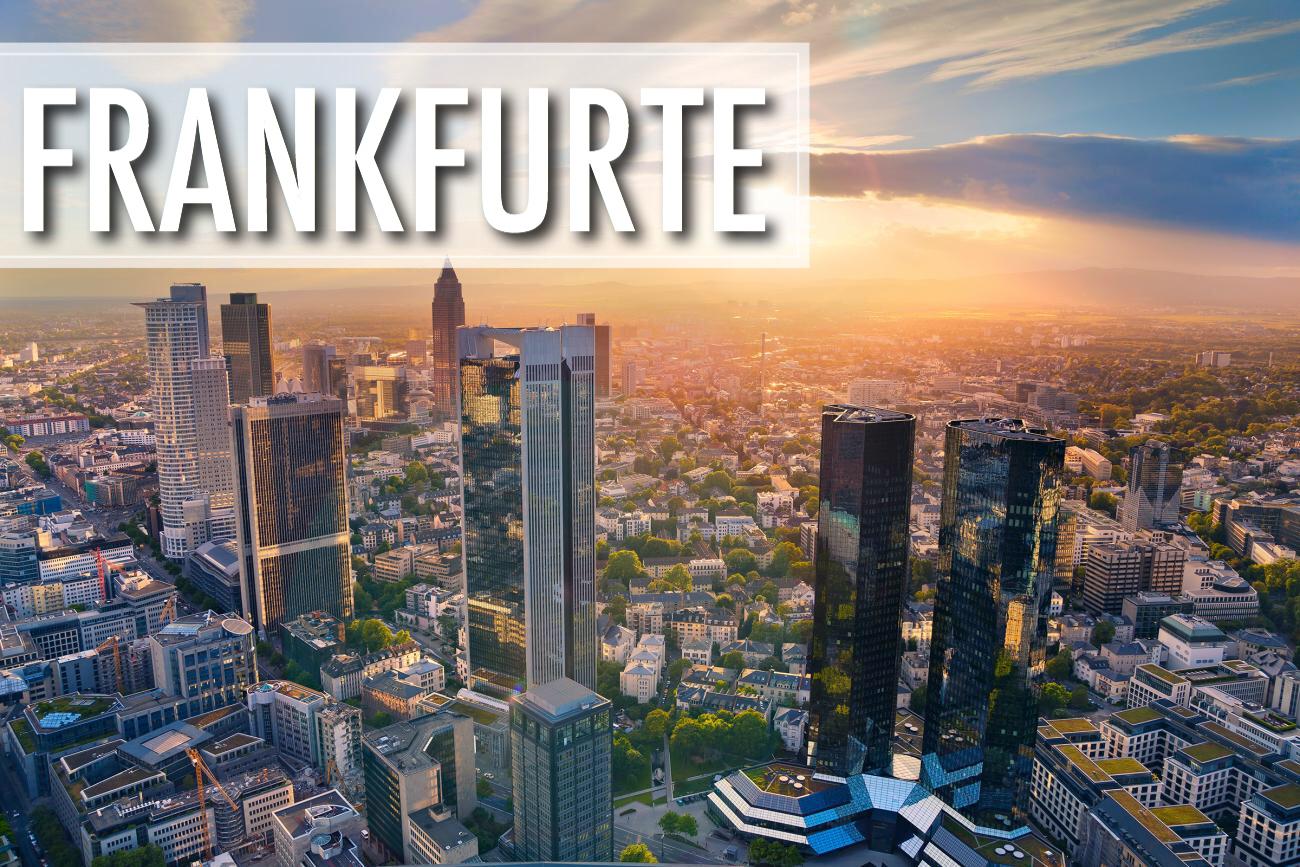 Lētas aviobiļetes uz Frankfurti / biļetes Rīga - Frankfurte tikai €27!