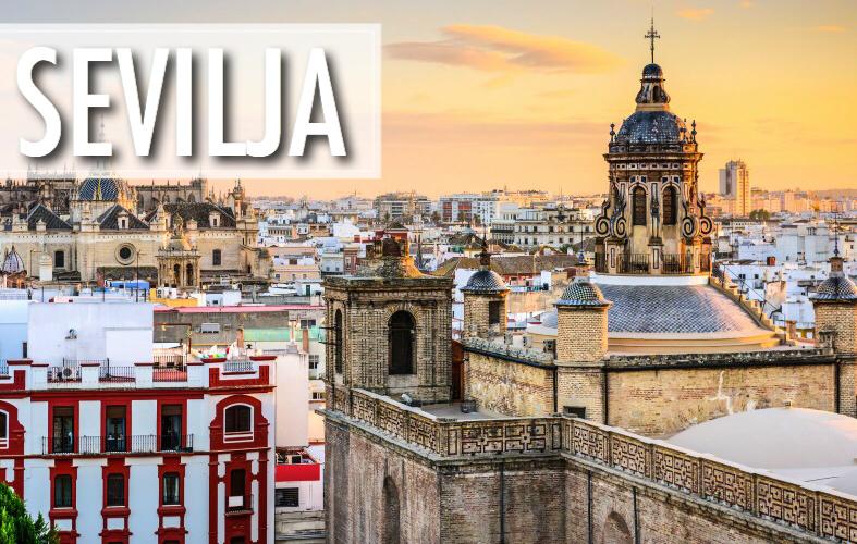 Lētas aviobiļetes uz Sevilju, Spāniju / lidojumi Rīga - Sevilja