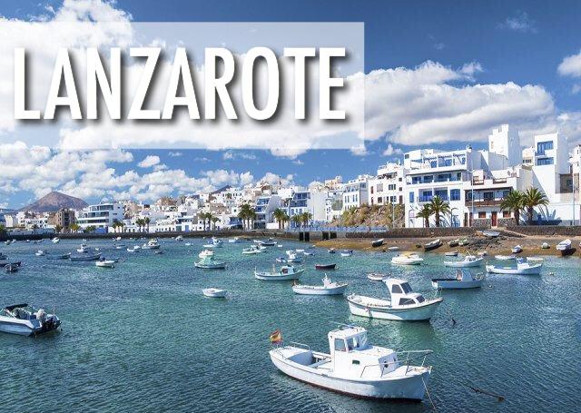 Lanzarote, Spānija - lētas aviobiļetes uz Lanzaroti (Kanāriju salas)