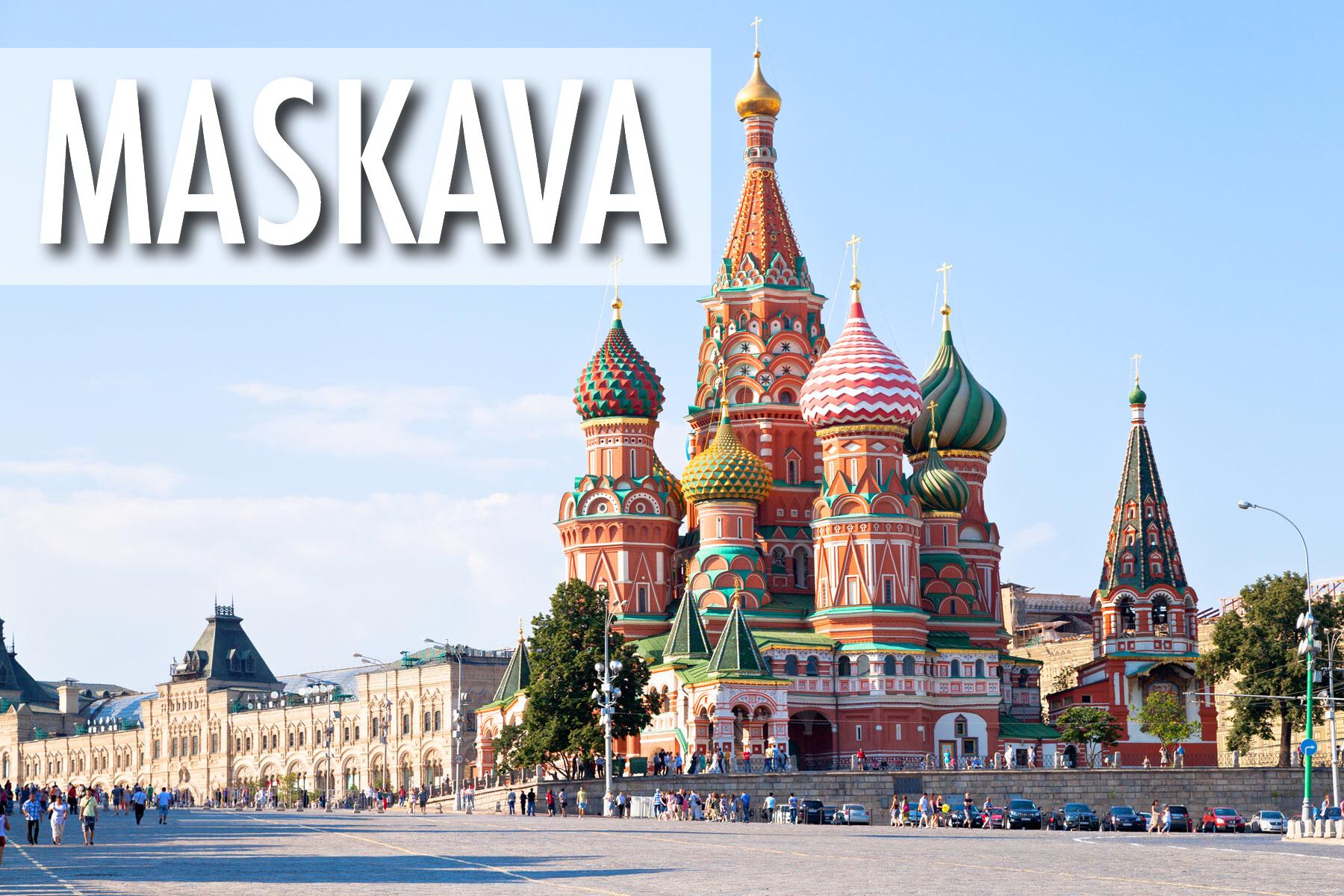 Lētas aviobiļetes Rīga - Maskava / Tiešie reisi uz Maskavu