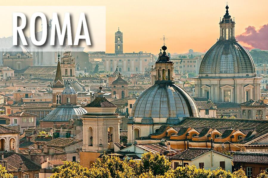 Aviobiļetes uz Romu / Ceļojums uz Itāliju ar Ceļotlēti.lv