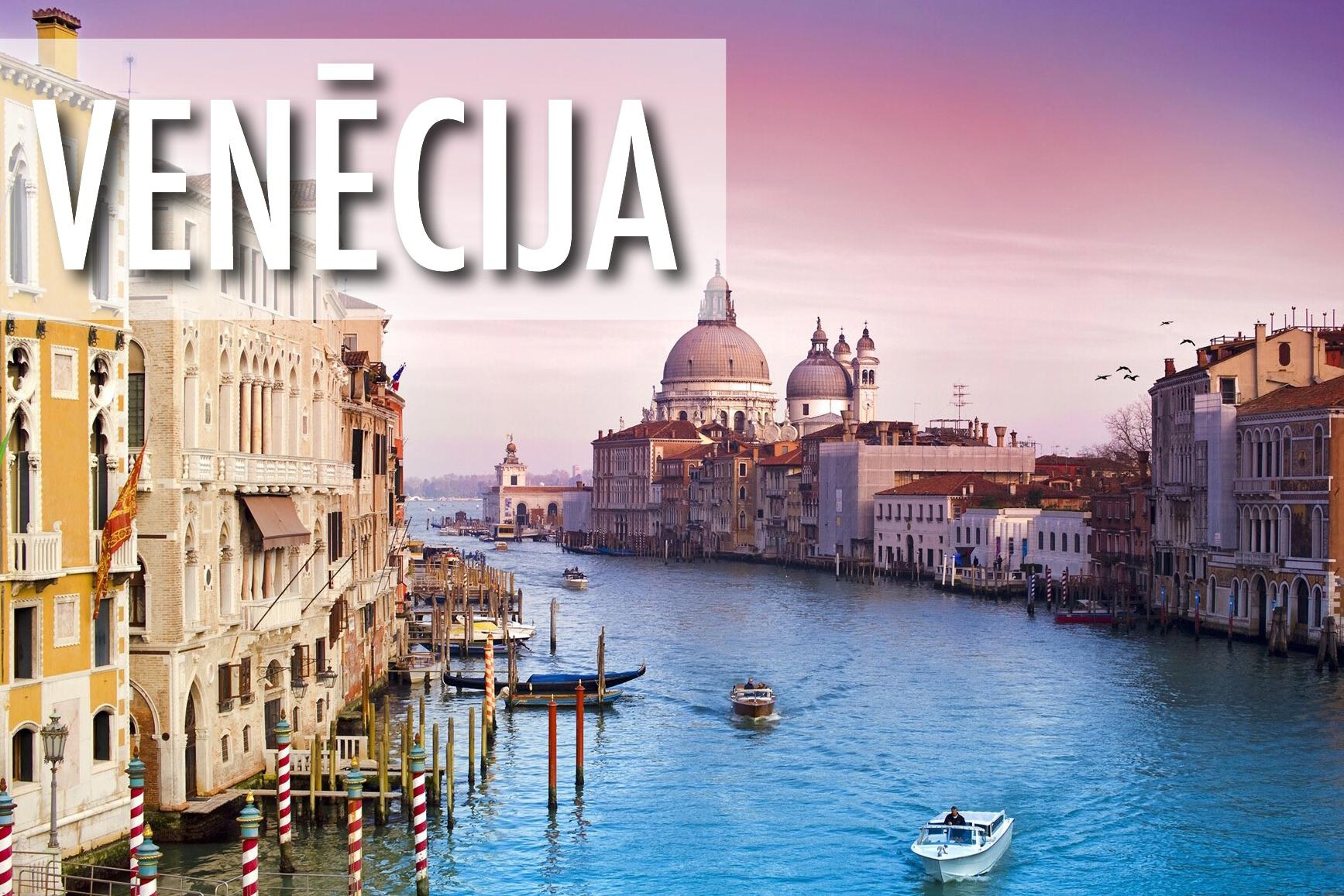 Aviobiļetes uz Venēciju / Lētas biļetes Rīga - Venēcija