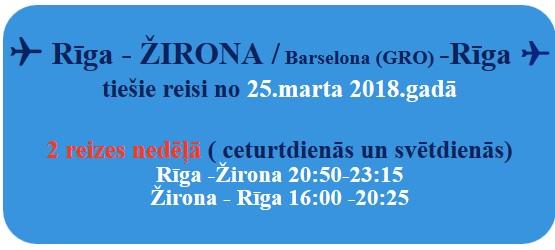 2018. gada Spānijas brīvdienu izpārdošana