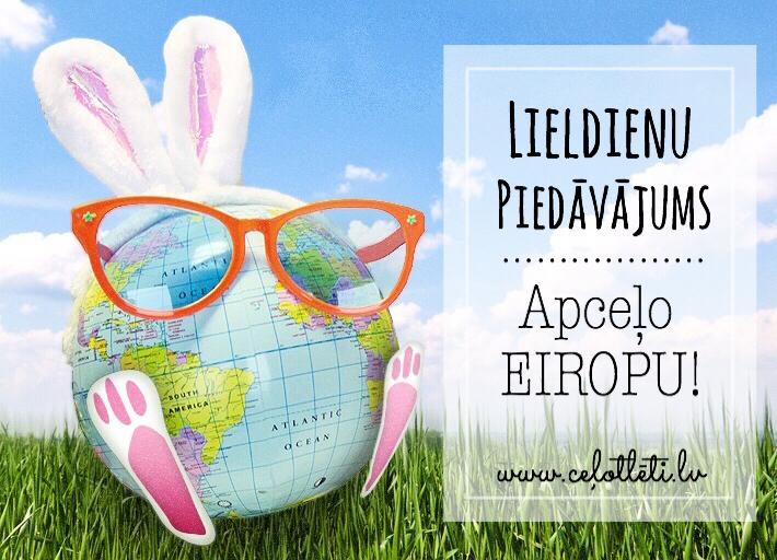 Lētas aviobiļetes Lieldienu brīvdienām!