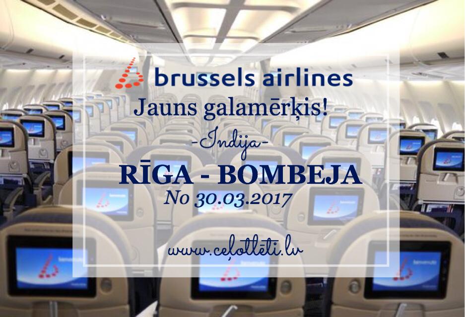 Ceļotlēti.lv piedāvā: Brussels Airlines jauns galamērķis