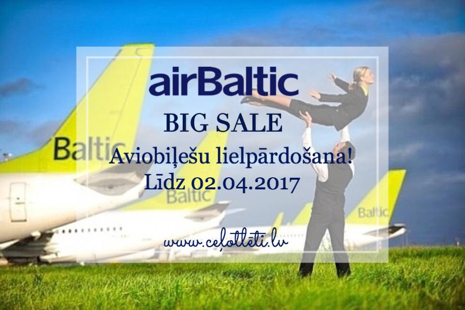 airBaltic LIELPĀRDOŠANA!