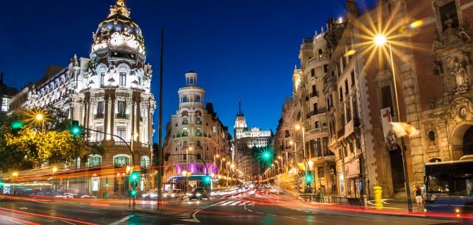 Savaitgalio kelionės į Madridas