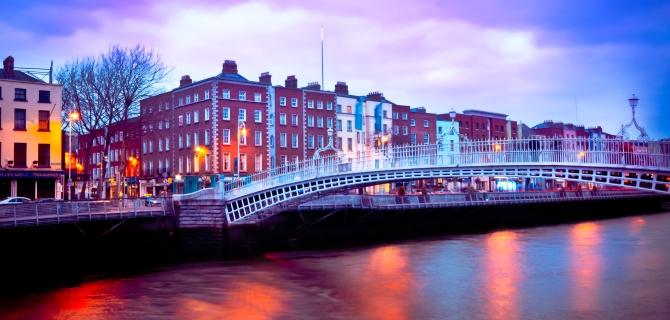 Savaitgalio kelionės į Dubliną
