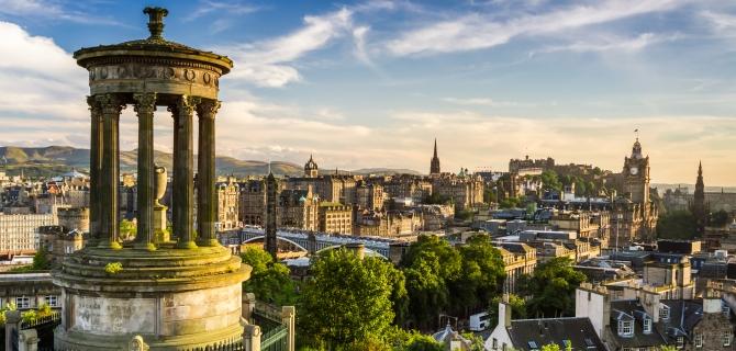 Savaitgalio kelionės į Edinburgą